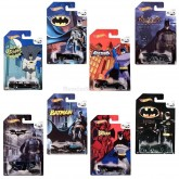 Hot wheels Batman 75th Anniversary 8 cars 1:64 FULL SET Walmart exclusives